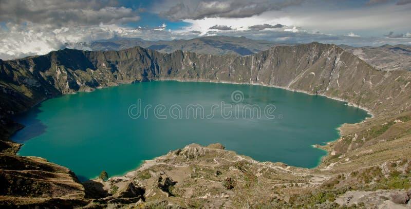Quilaota lake stock images