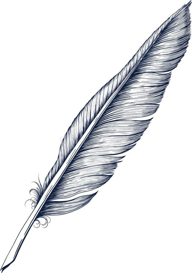 Quill Pen stock illustratie