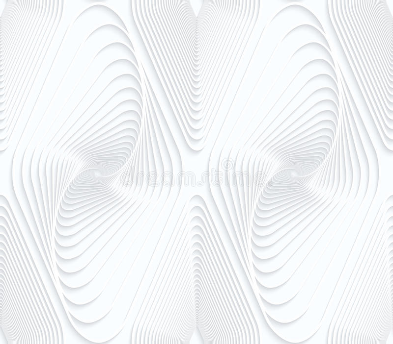 Quilling白皮书打旋了垂距金刚石 向量例证