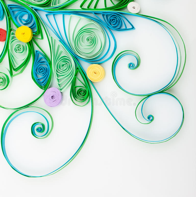 Quilling fotos de stock royalty free