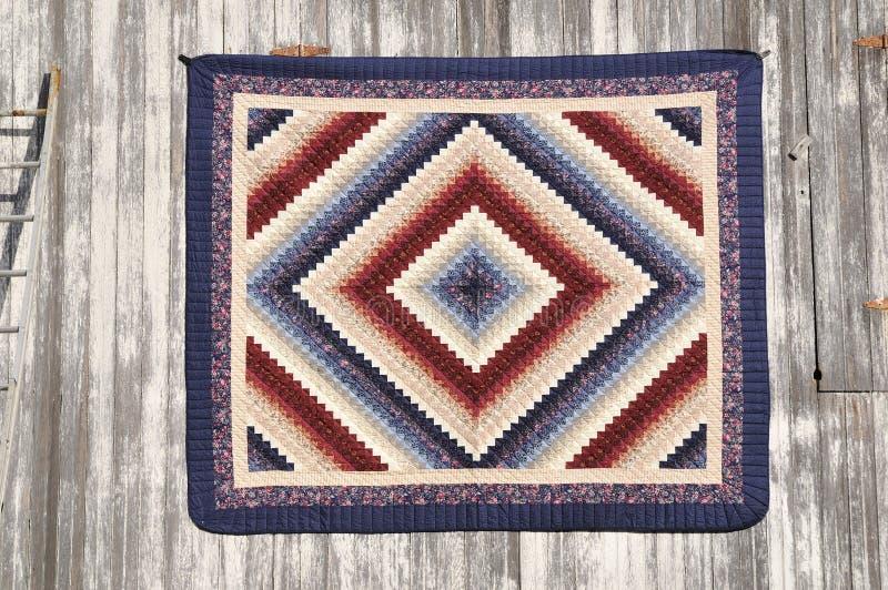quilt amish стоковое изображение