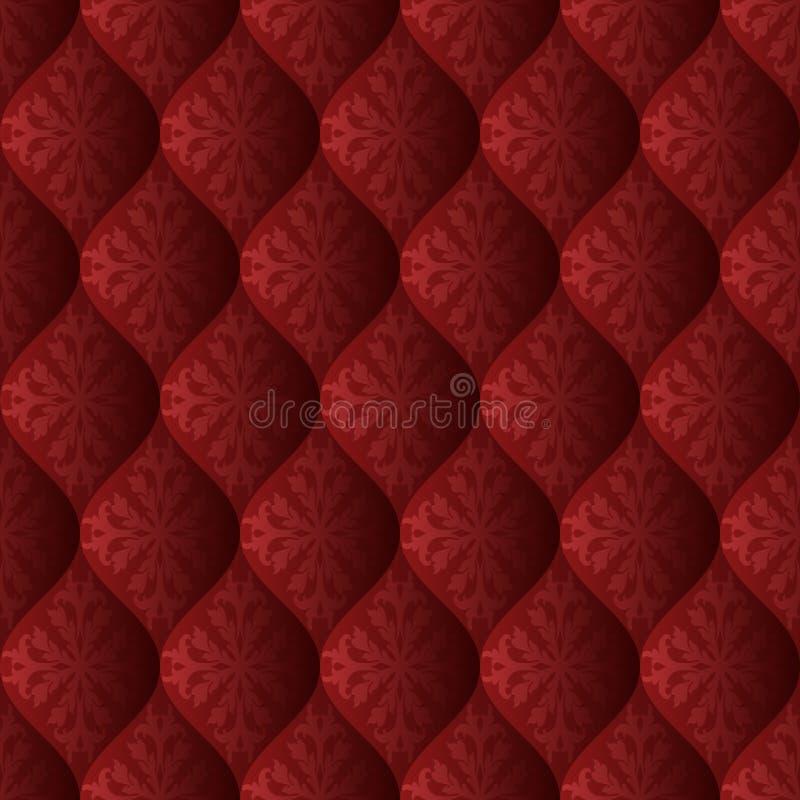 Quilt. Background, seamless pattern - vector illustration stock illustration