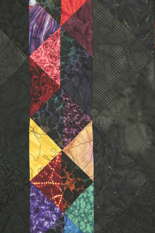 Download Quilt Block With Side Copy Space Stock Image - Image: 6030361