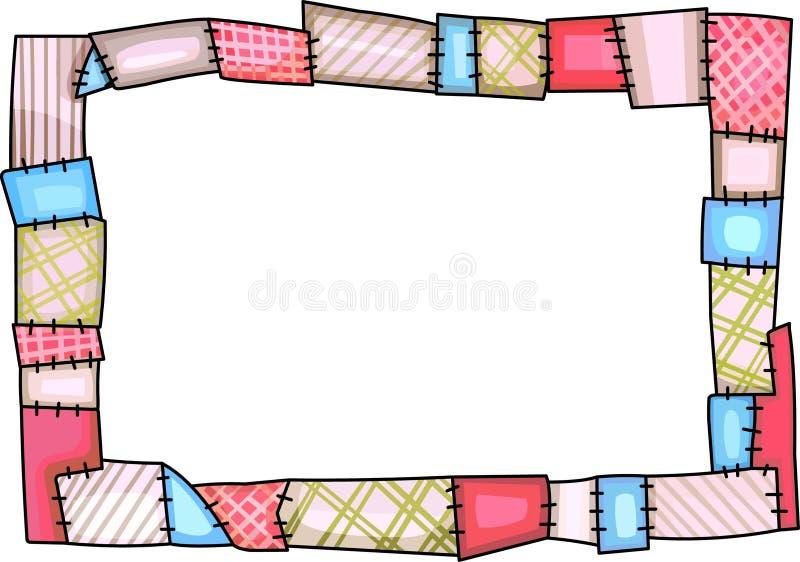 Line Art Quilt Kit : Quilt border stock illustration of hobby
