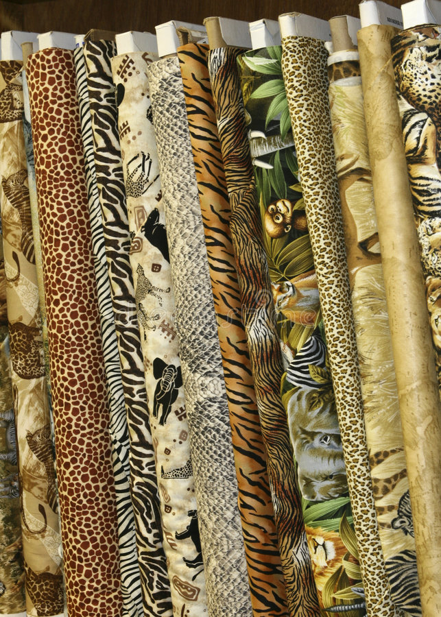 Quilt Fabric Royalty Free Stock Images