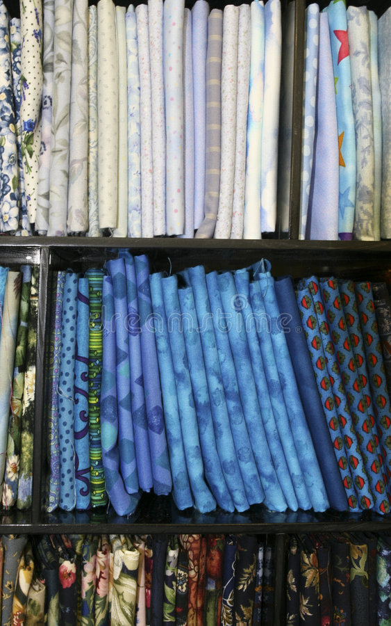 Quilt Fabric stock image