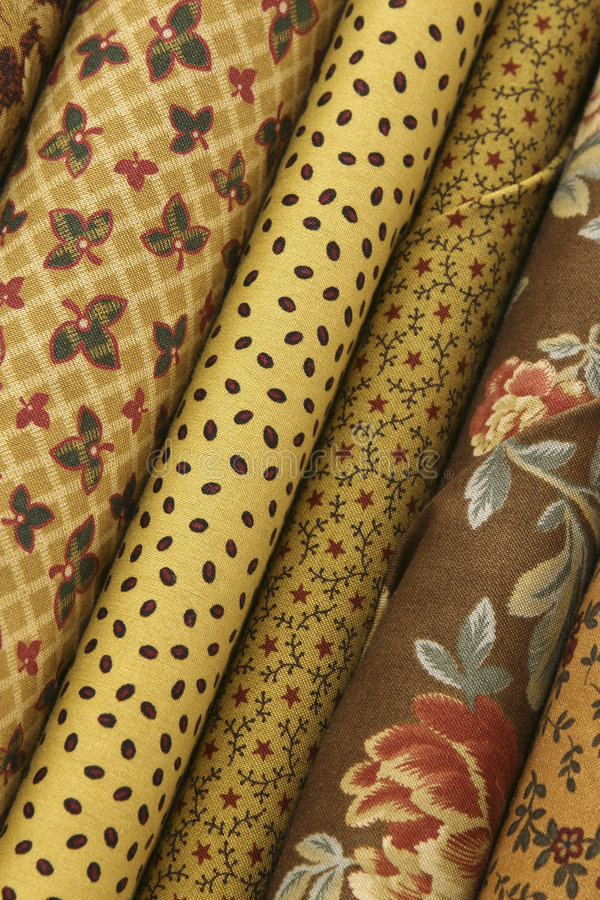 Download Quilt Fabric stock image. Image of texture, quilts, bolts - 8335287