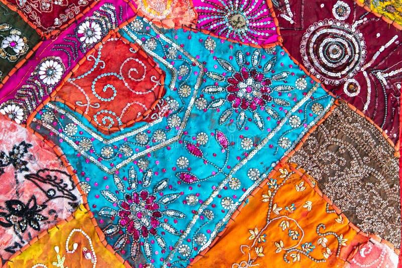 Quilt Handmade de India fotografia de stock royalty free