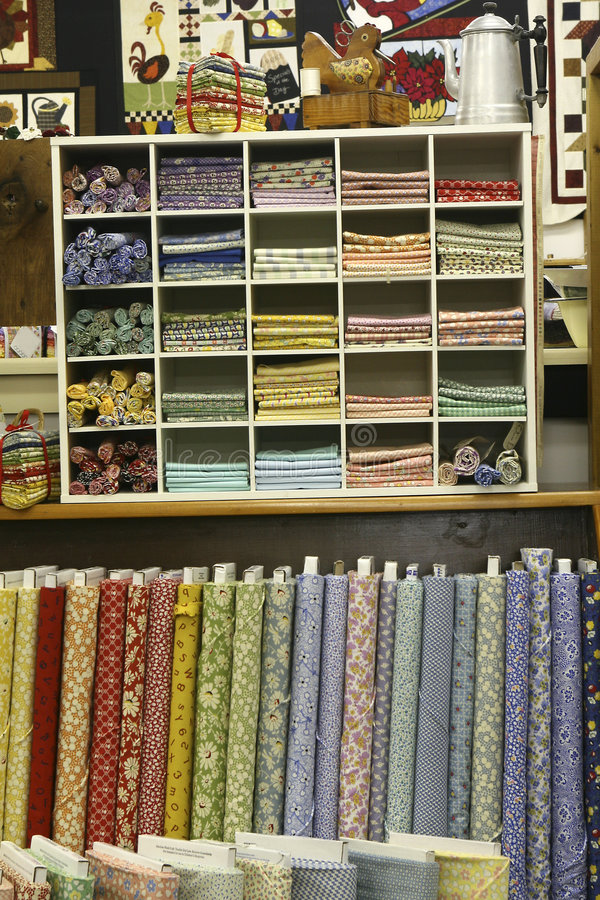 Download The Quilt Shop stock image. Image of designs, bolts, store - 8335469