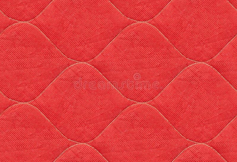 Quilt vermelho imagens de stock royalty free