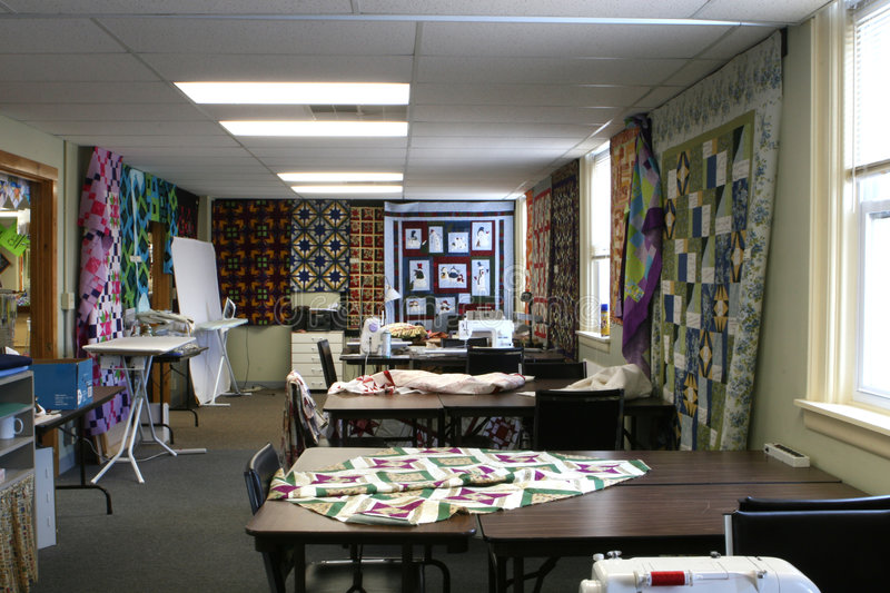 Download The Quilt Workroom stock image. Image of education, learn - 5920151