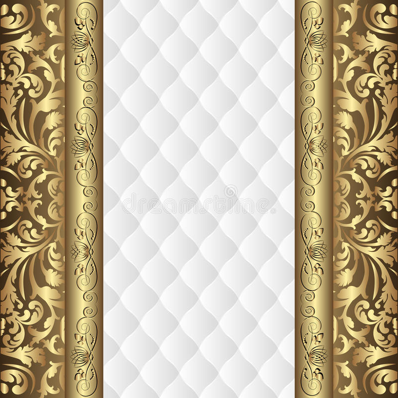 Download Quilted  background stock vector. Image of metallic, decorative - 28866462