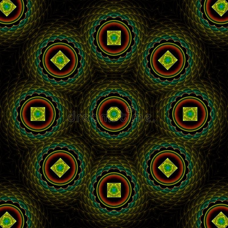 Download Quilted treasure mandala stock illustration. Image of background - 4941931