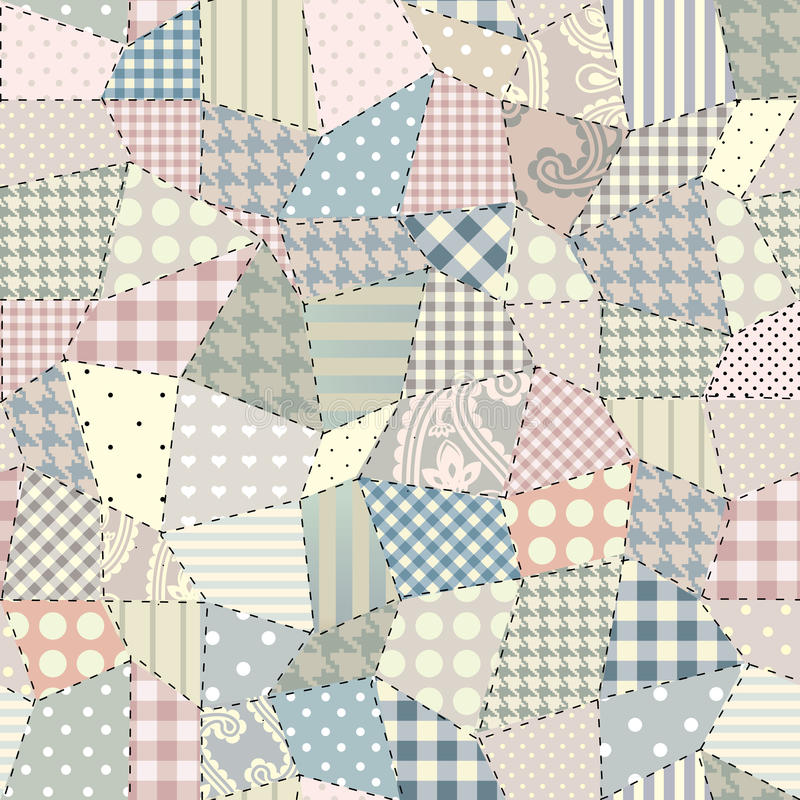 Download Quilting pattern stock vector. Illustration of patchwork - 25729490