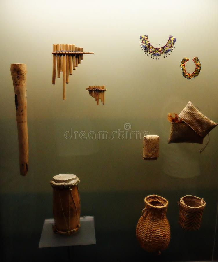 Quimbayaarcheologie royalty-vrije stock foto