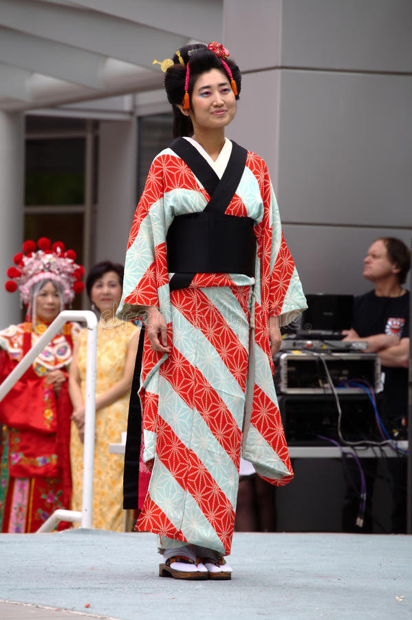 Quimono japonês fotos de stock