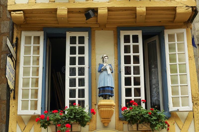 Quimper (Brittany) royaltyfri foto