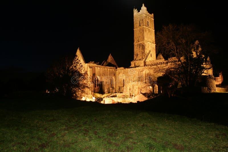 Quin Abbey royalty free stock photos