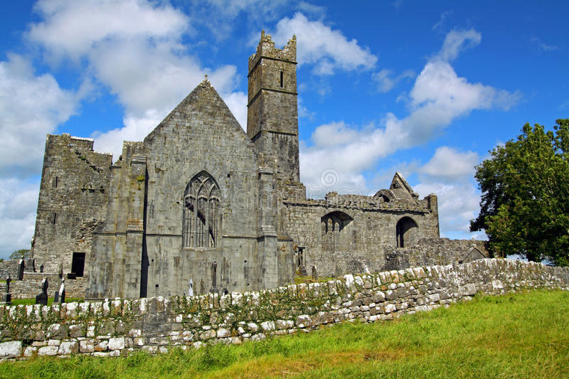 Download Quin Abbey Co. Clare Ireland Stock Photo - Image: 20863142