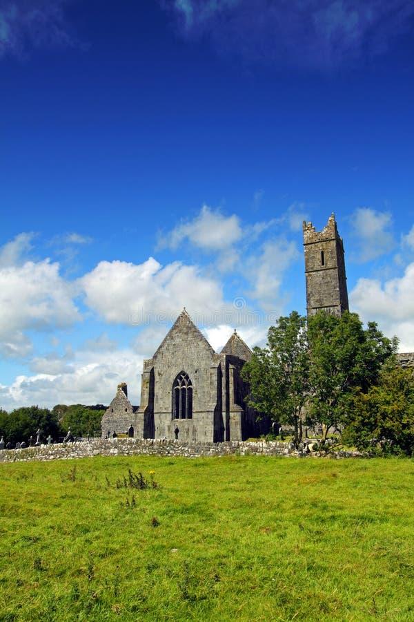 Quin Abbey Co. Clare Ireland Stock Photo