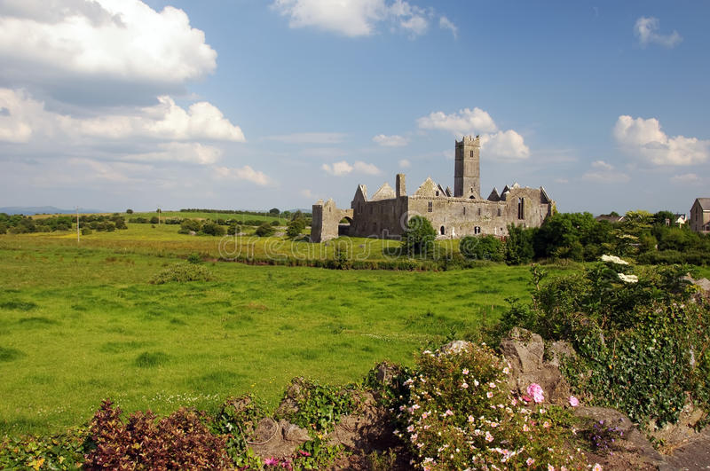 Download Quin Abbey, Famous In County Clare, Ireland Stock Photo - Image: 10510148