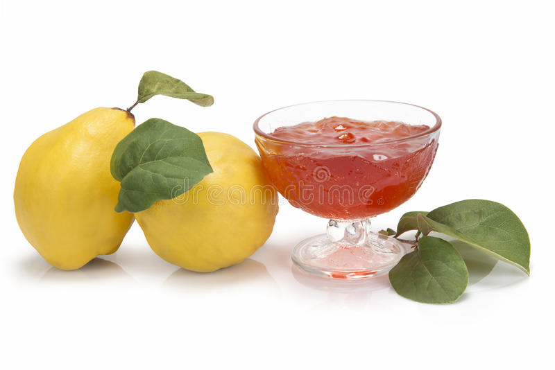 Quince Jelly Royalty Free Stock Images