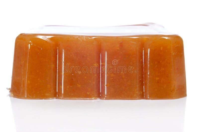 quince typiska spain för de dulce gelémembrillo royaltyfri fotografi