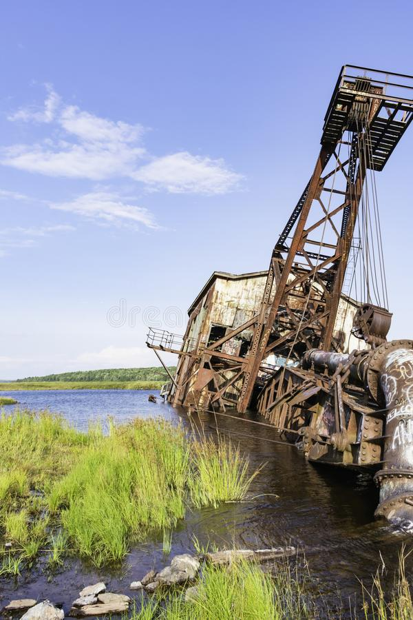 Quincy Dredge Number Two imagem de stock royalty free