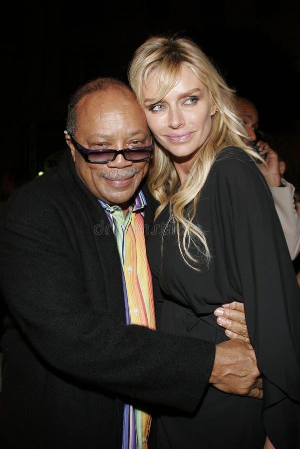 Quincy Jones foto de stock