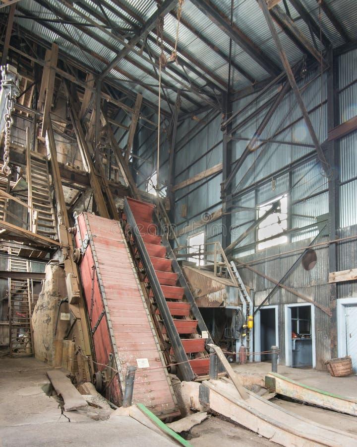 Quincy kopalni pominięcia droga, Keweenaw Krajowy Dziejowy park, MI obrazy stock