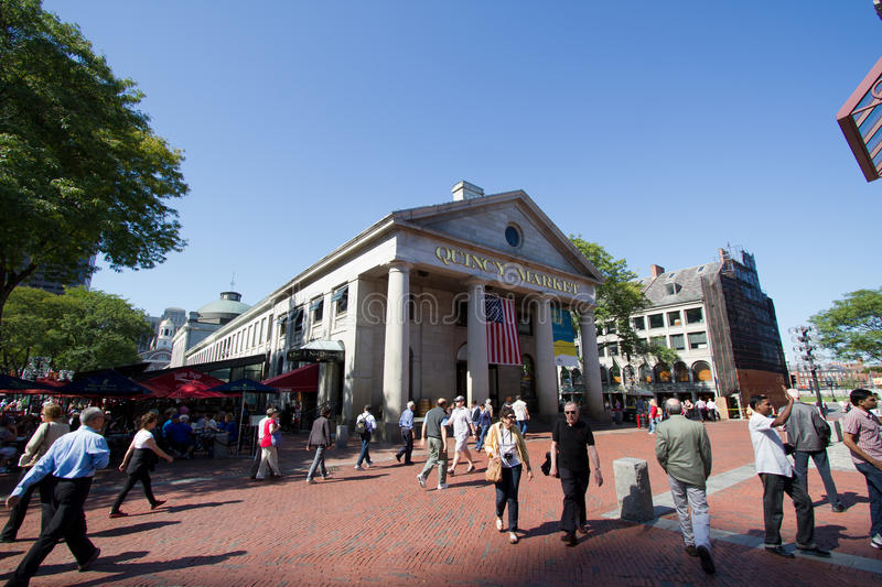 Download Quincy Market In Boston During Day Editorial Stock Photo - Image: 21653793