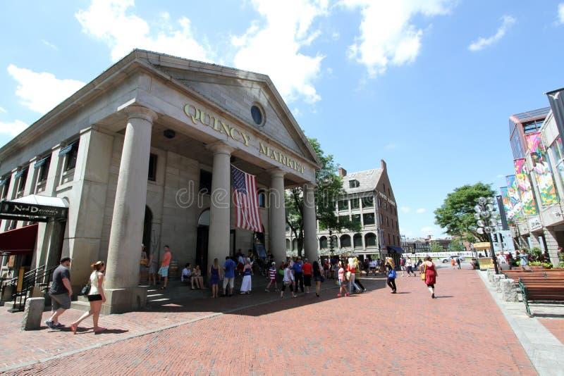 Quincy rynek Boston MA zdjęcia stock