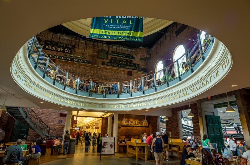 Quincy rynek w Boston fotografia stock