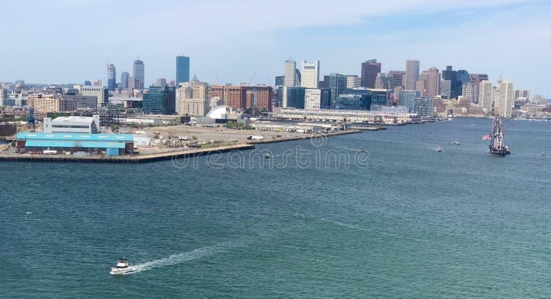 Quincy zatoka, Boston, MA fotografia royalty free