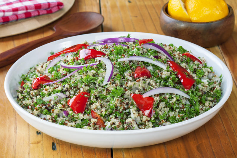 Quinoa en Amarantsalade stock foto