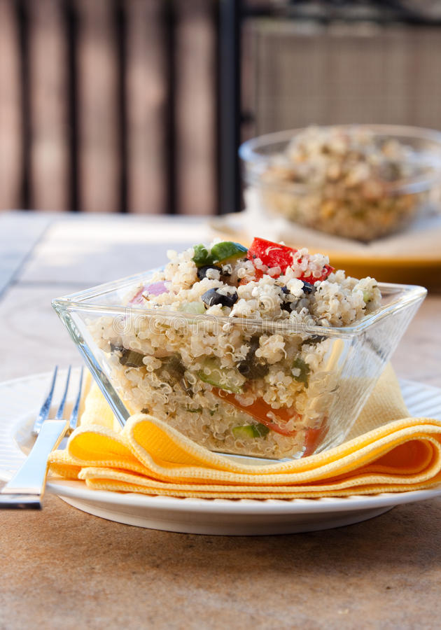 Free Quinoa Feta Salad Royalty Free Stock Images - 14373119