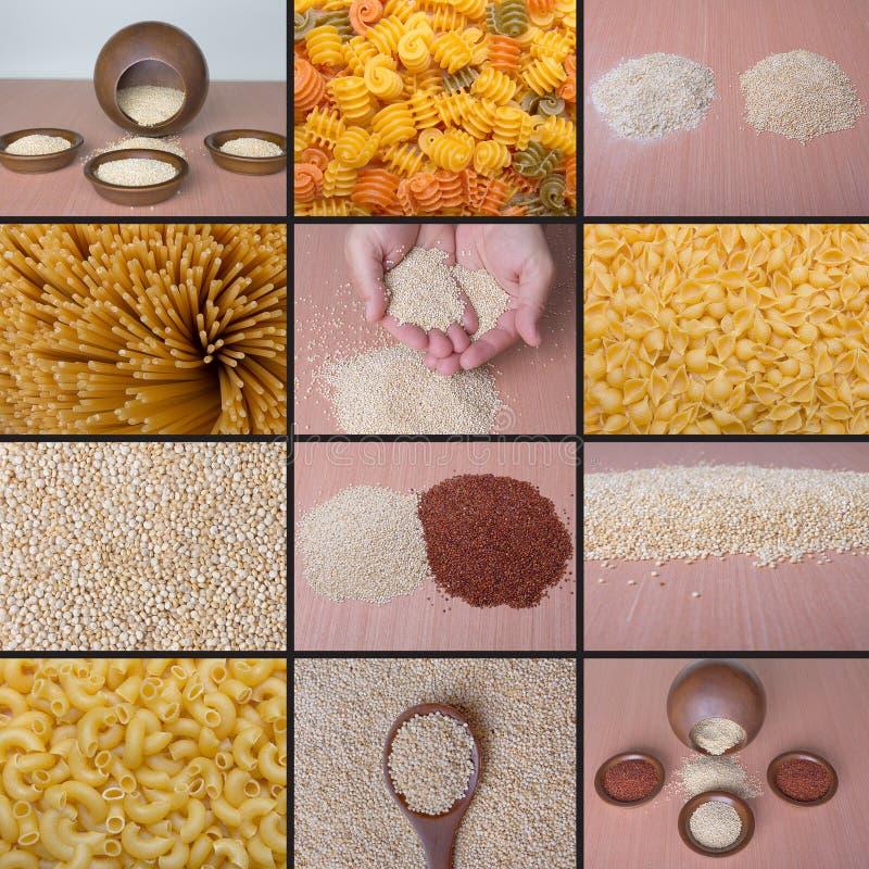 Quinoa gratuit de gluten image stock