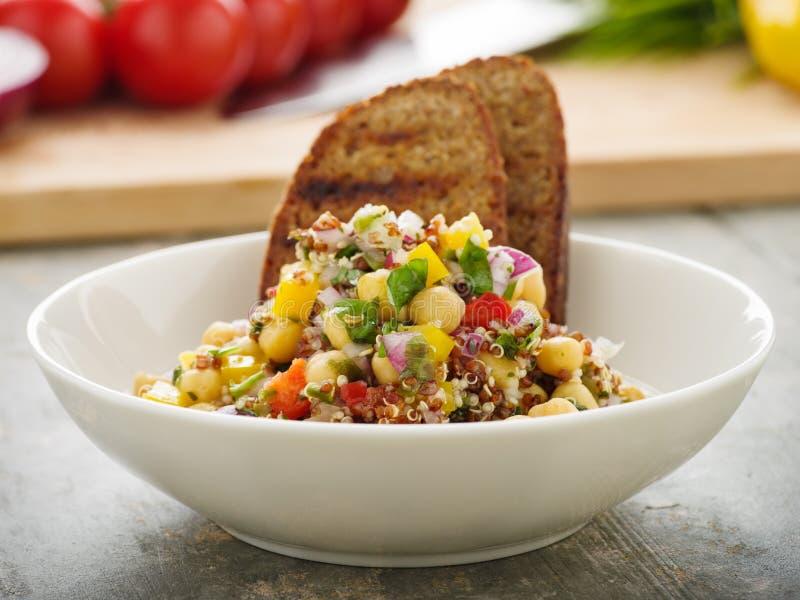 Quinoa tabbouleh z veggies zdjęcie royalty free