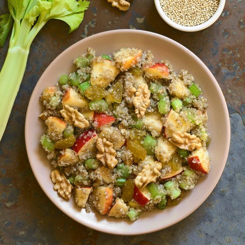 Quinoa Waldorf Salad stock image