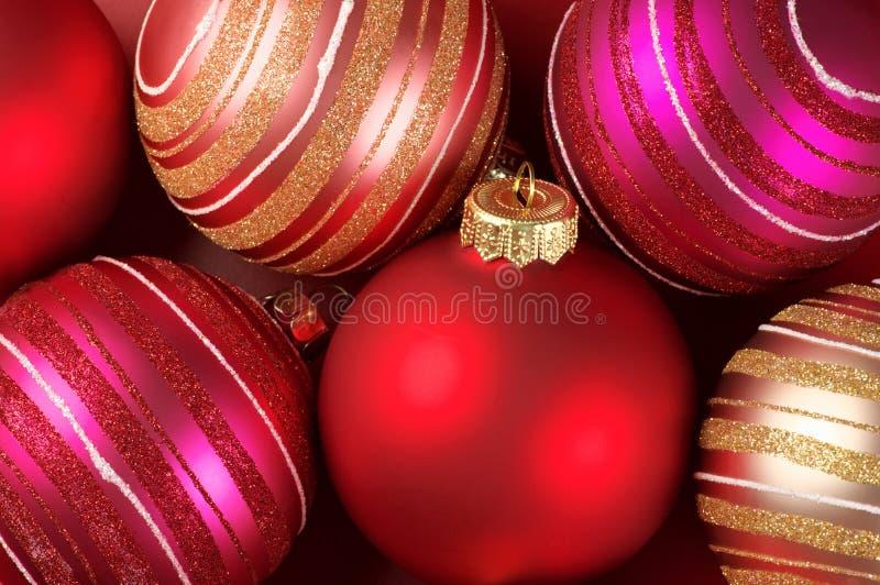Quinquilharias do Natal imagem de stock