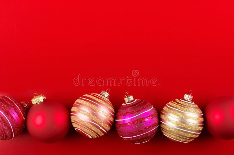 Quinquilharias do Natal fotografia de stock