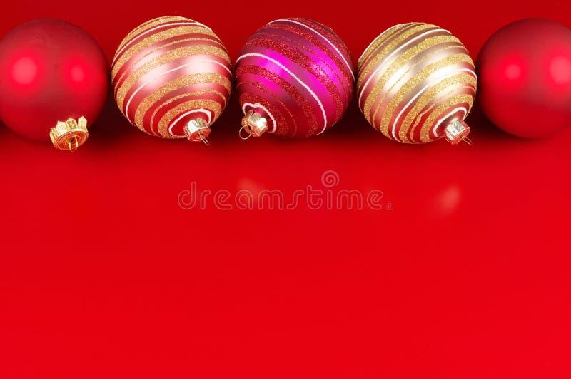 Quinquilharias do Natal imagens de stock