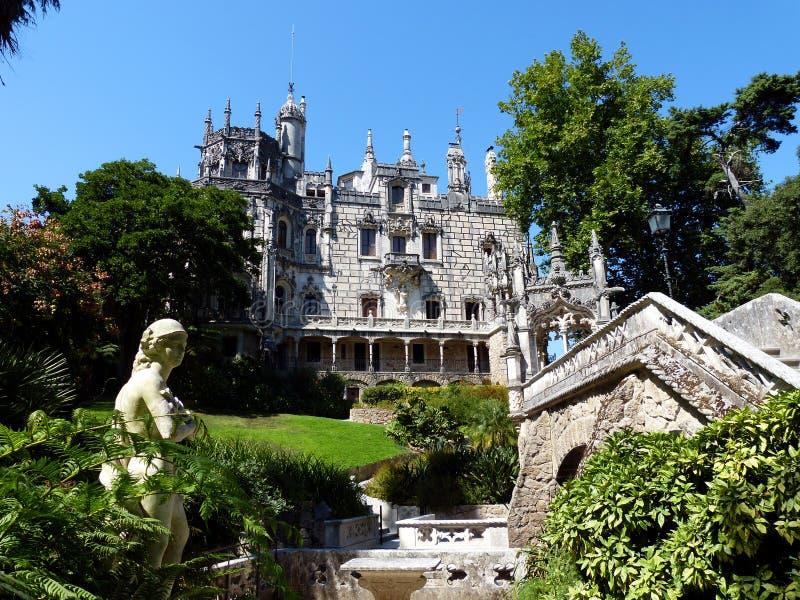 Quinta DA Regaleira royalty-vrije stock afbeelding