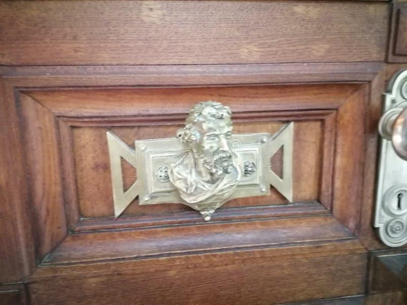 Quinta da Regaleira-doorknob-Sintra-Portugal royalty-vrije stock foto's