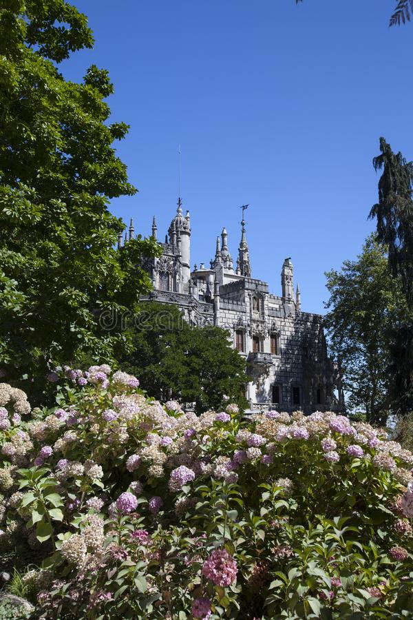 Quinta da Regaleira Sintra, Portugal, 2012 arkivbild