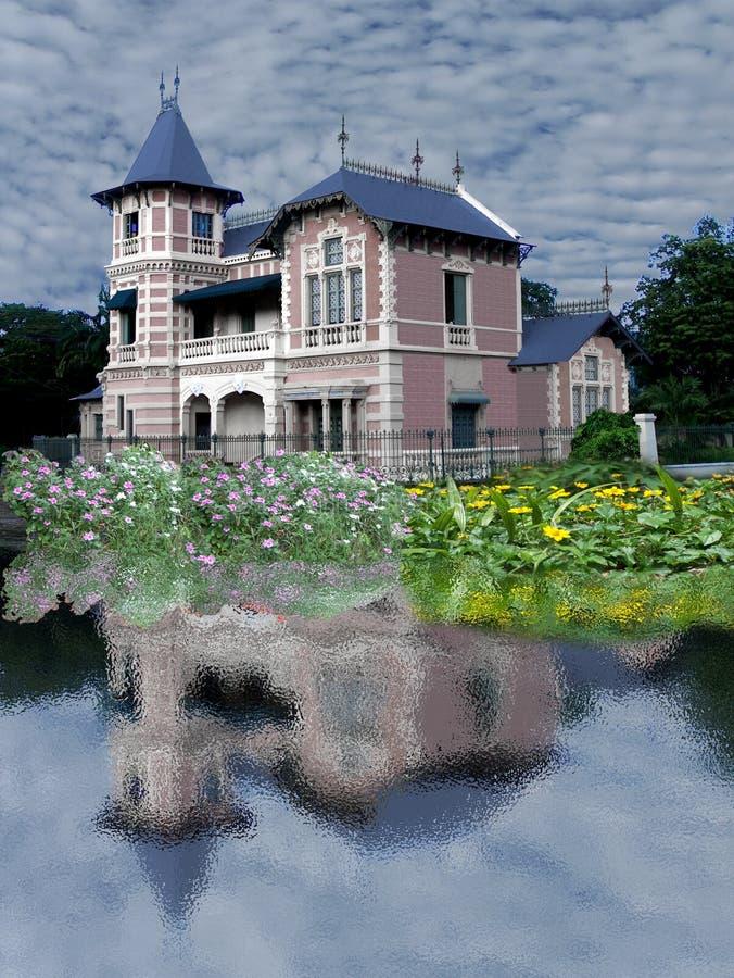 Quinta La Isabela Palace of the Iturriza Museum of the City of Valencia Venezuela royalty free stock images