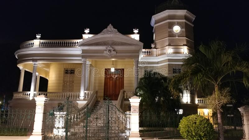 Quinta Montes Molina-Museumherenhuis - Merida, Mexico stock foto