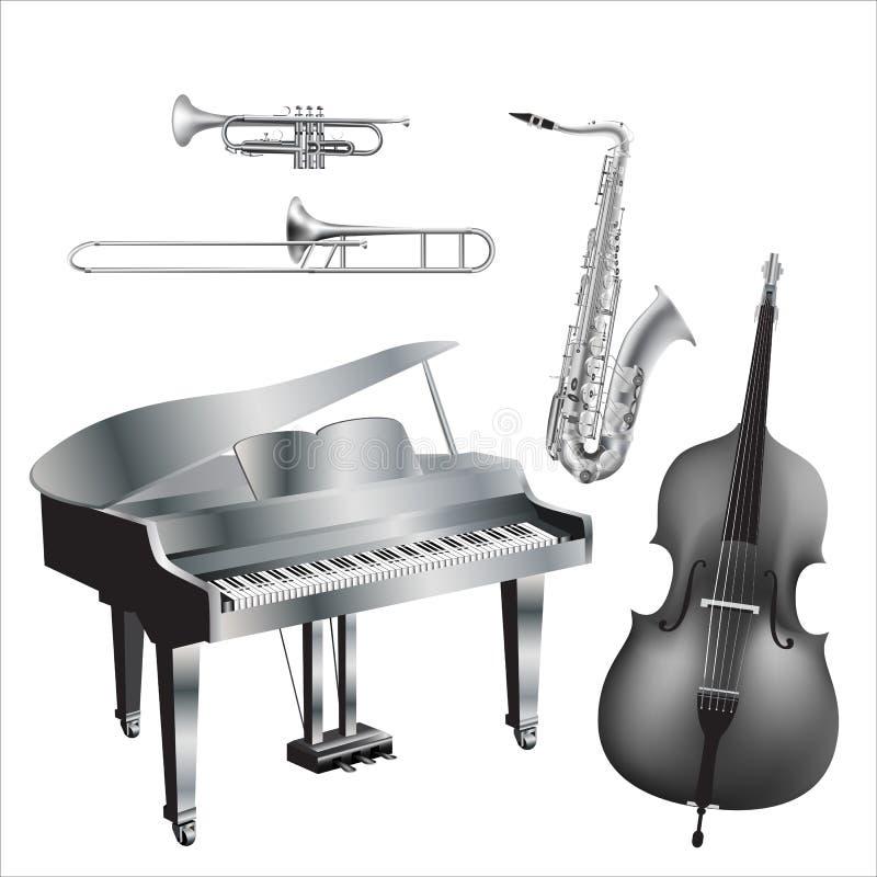 Quintet_monochrome stockbild