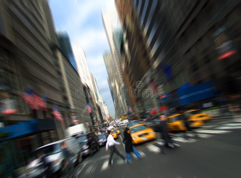 quinto viale, Manhattan, New York immagini stock libere da diritti