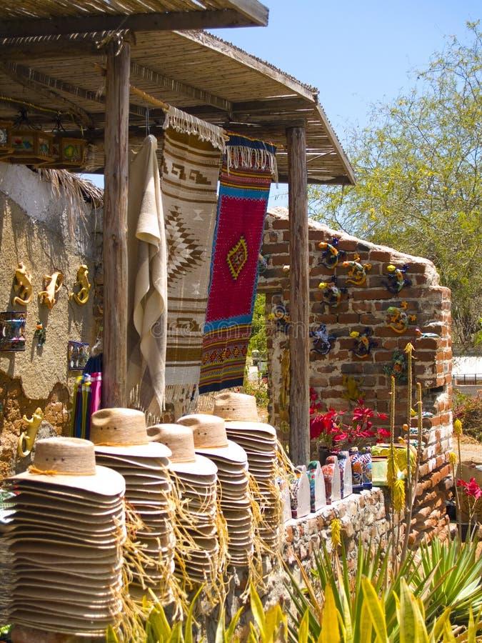 Quiosque mexicano do turista imagens de stock royalty free